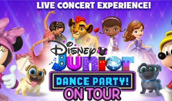Disney Junior Dance Party at Stranahan Theater