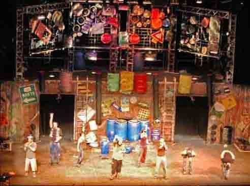 Stomp at Stranahan Theater
