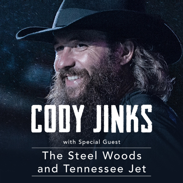 Cody Jinks at Stranahan Theater