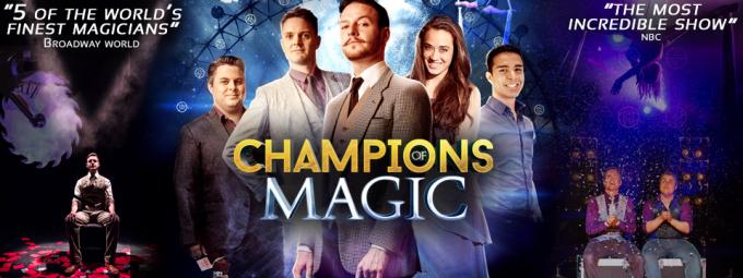 Champions Of Magic at Stranahan Theater