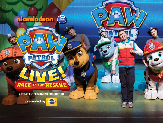 Paw Patrol Live at Stranahan Theater