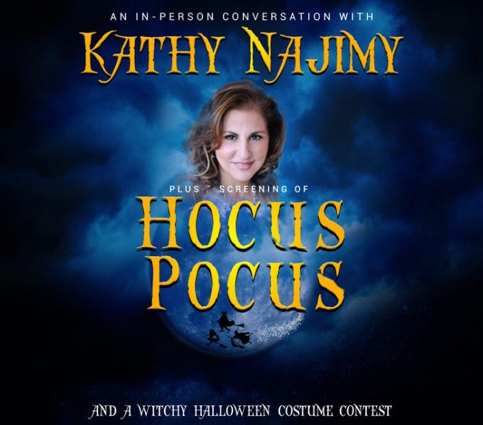Kathy Najimy Live With Screening of Hocus Pocus at Stranahan Theater