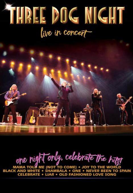 Three Dog Night at Stranahan Theater