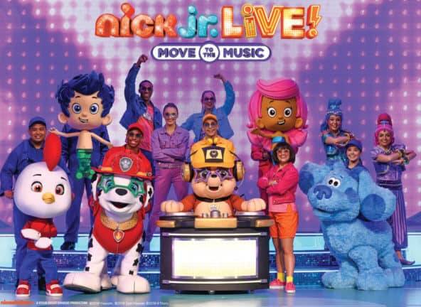 Nick Jr. Live! Move to the Music at Stranahan Theater